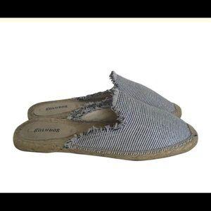 SOLUDOS Espadrille Mules / Size 8